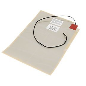 Order online at Screwfix.com. Self-adhesive backing for easy installation to back of mirror. Avoids condensation. Demists mirror in minutes. Wires can be connected to light switch to save energy. FREE next day delivery available, free collection in 5 minutes.