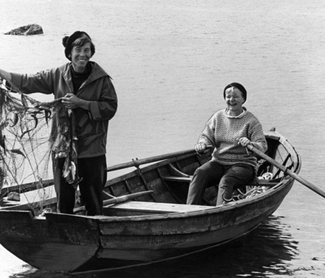 Tove Jansson and her partner
