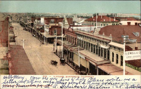 Marysville D Street Parade 1909 Yuba Sutter Historic Photos Landmarks Pinterest City