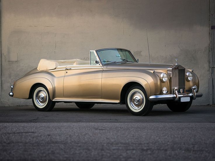 1962 Rolls-Royce Silver Cloud II Drophead Coupe