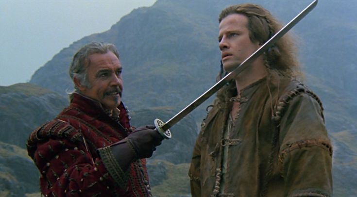 Highlander, 1986, fantasy, Russell Mulcahy, Gregory Widen, Christopher Lambert, Sean Connery, Clancy Brown, Roxanne Hart, Beatie Edney, Alan North, Jon Polito, Sheila Gish, Hugh Quarshie, Christopher Malcolm, Peter Diamond, Billy Hartman, James Cosmo, Corinne Russell, Celia Imrie