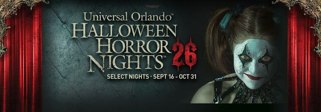 Halloween Horror Nights 26  – Universal Studios Florida haunted house details! Email me - lauren@magicaltravel.com -  to book your trip today!