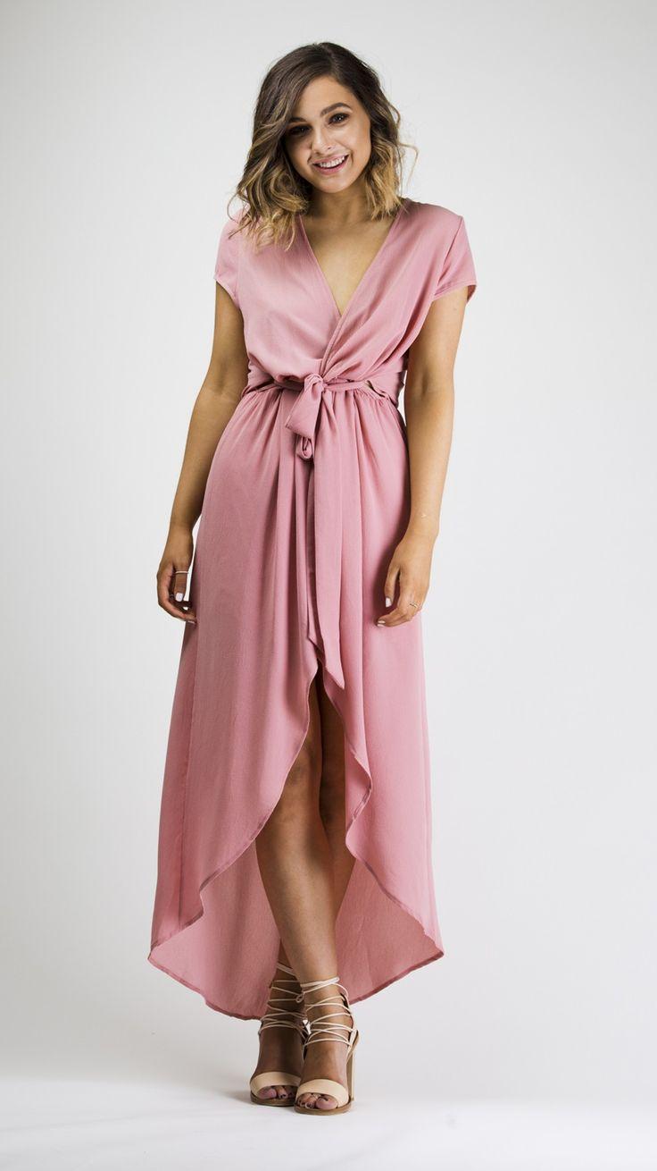 Rose midi dress