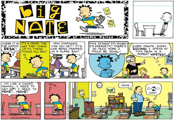 Big Nate By Lincoln Peirce For May 25 1997 Funny Big