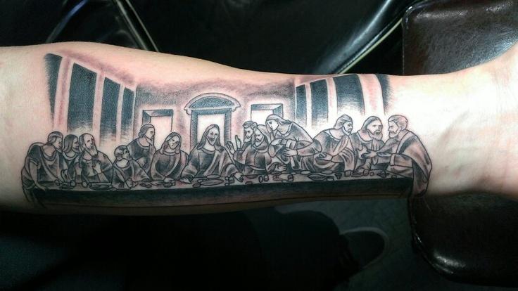 my last supper tattoo tattoos pinterest tattoo and