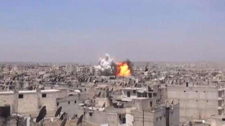 Jet Tempur Rezim Asad dan Rusia Lancarkan Serangan ke Sejumlah Wilayah di Aleppo  SALAM-ONLINE: Pesawat tempur rezim Basyar Asad dan Rusia melancarkan serangan udara di beberapa wilayah permukiman pedesaan barat Aleppo pada Senin (13/3).  Serangan udara seperti dilansir OrientNews Selasa (14/3) diarahkan ke kota-kota Khan Toman al-Ees di pedesaan selatan Aleppo dan desa-desa al-Tuwamah al-Rasyidin serta kawasan pedesaan barat di Aleppo. Menurut aktivis tidak ada korban jiwa yang dilaporkan…