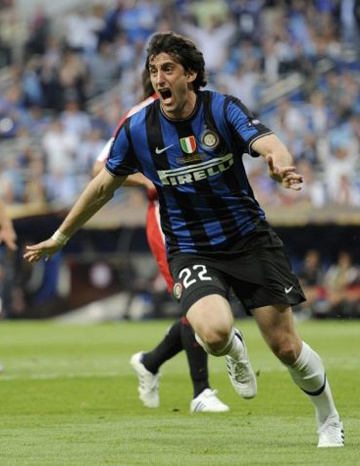 Diego Milito UCL final