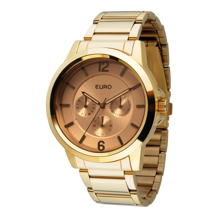 Relógio Euro Feminino Analógico Lublin EU6P29AEQ/4K - Dourado - euro