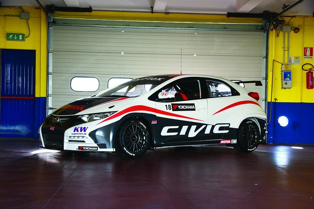 2012 Honda Civic WTCC car, via Flickr & Lotpro.com