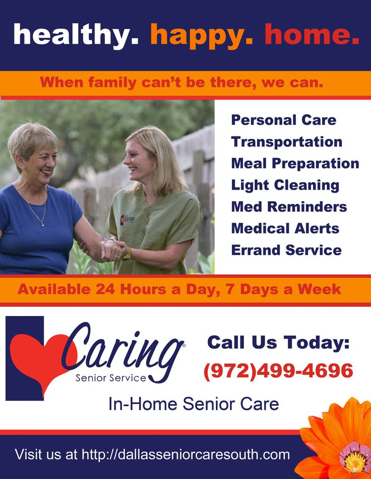 caring senior service south dallas flyer https