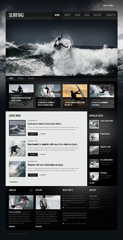 Surfing repinned by www.BlickeDeeler.de