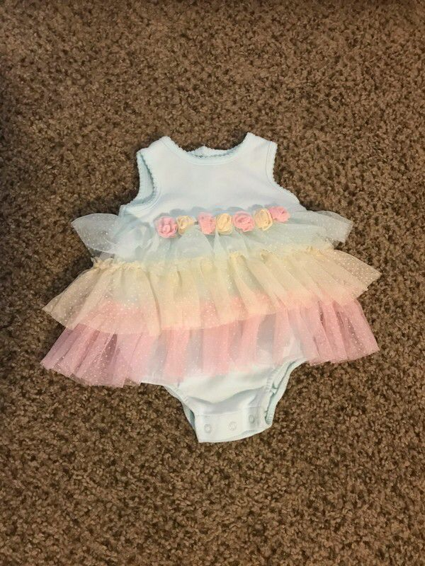 7b825dc3d0c My NWOT Little Me Onesie with Tutu by Little Me. Size 6-9 months