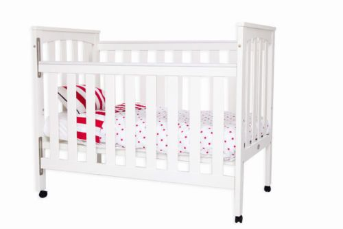 Sunbury children's cot /crib / toddler bed, 2-in-1, from baby to toddler[White]