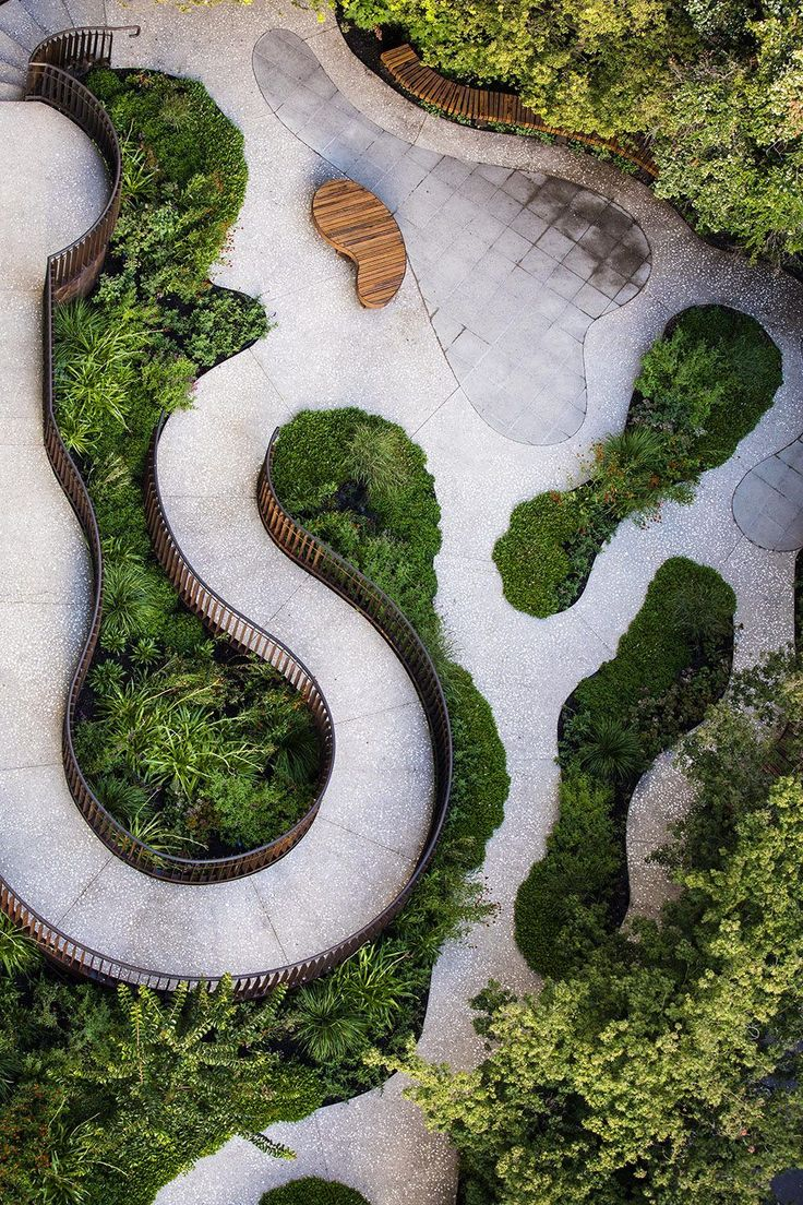 Southgate Project By Ian Barker Gardens - 谷德设计网 #landscapearchitecturecourtyard