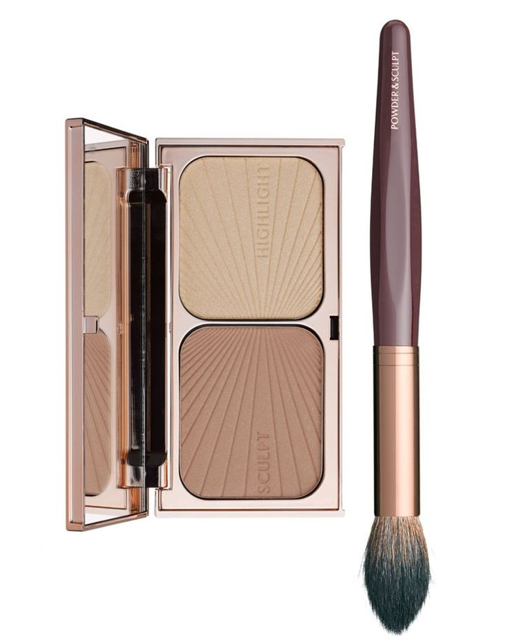 Charlotte Tilbury - FILMSTAR KILLER CHEEKBONES palette - bronzer and highlighter duo - Recommended by Kate Moss - also recommended by Kayleen McAdams