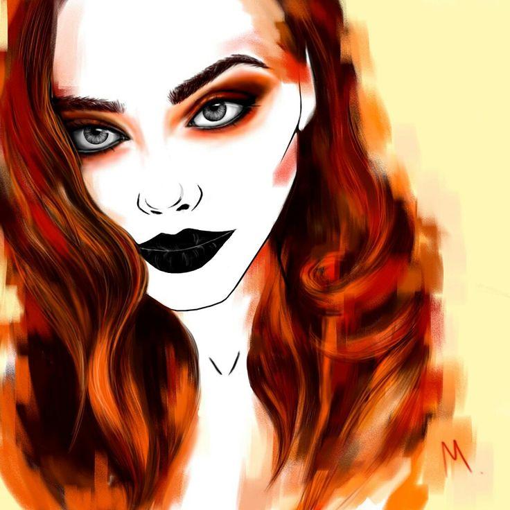 #fashionillustration#art#line#vogue#model#artwork