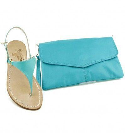 Semplicemente Tiffany Dea Sandals Capri Summer collection www.deasandals.com