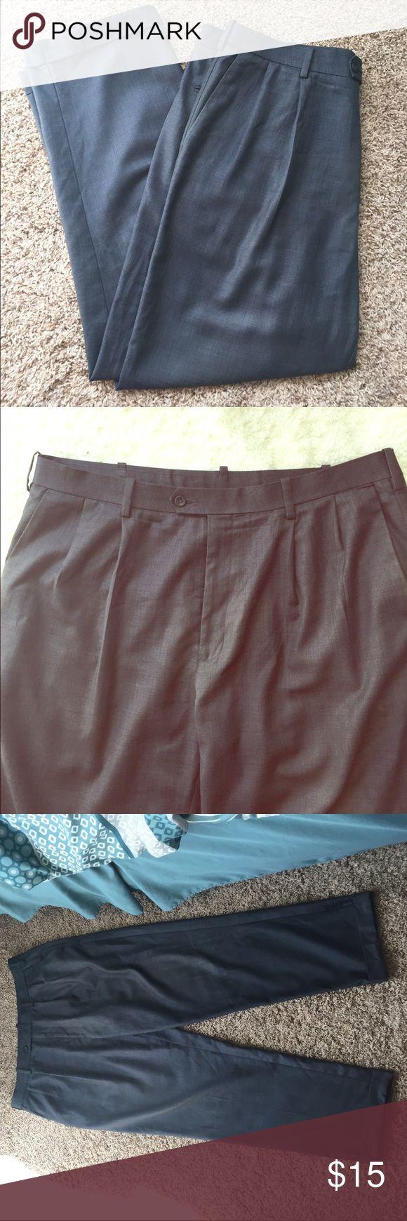 (38X30) Men's Grey Dress Pants Men's Grey Dress Pants. Size 38/30. Savane Pants Dress
