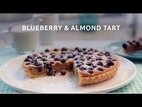 Tarts, Blueberries and Almonds on Pinterest