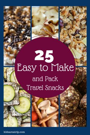 25 Easy to Make and Pack Travel Snacks-Kids Are A Trip