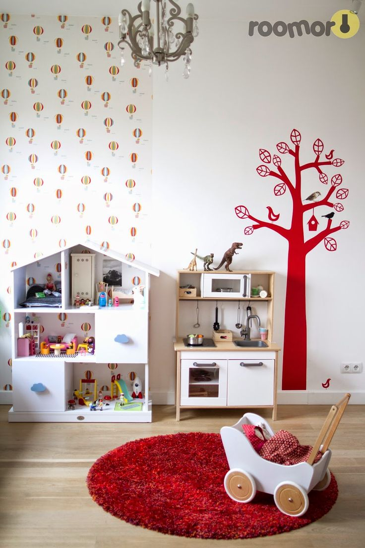 roomor! kid's room, wallpaper, kid's space