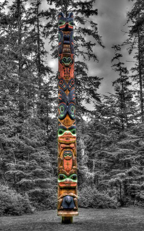 Totem Pole, Sitka, Alaska: