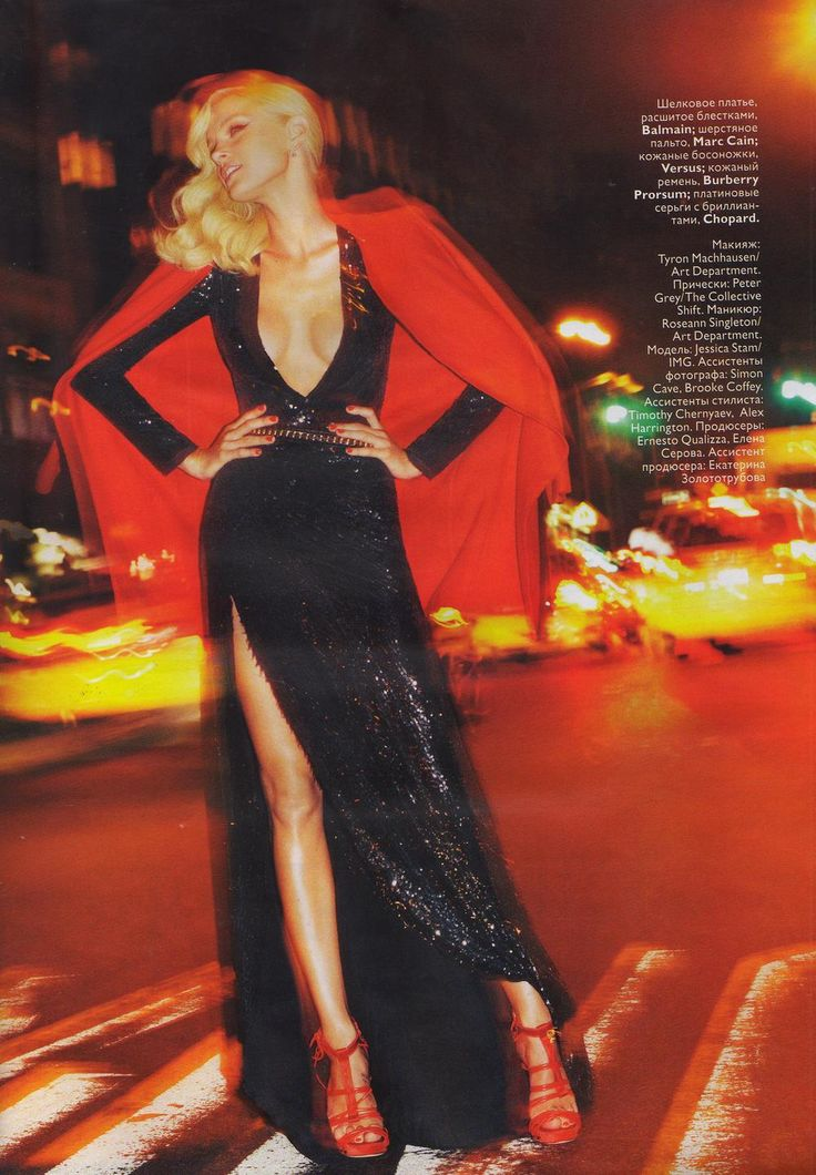 Jessica Stam by Greg Kadel for Vogue Russia December 2010
