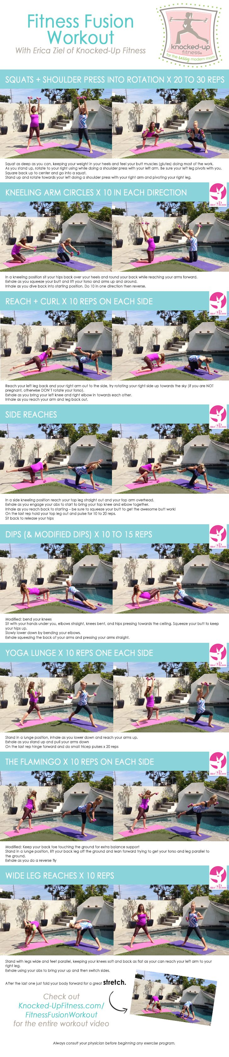 Fitness Fusion Workout Video