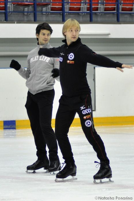 Gallery.ru / Фото #52 - Practice /Stephane on ice - friendsonice