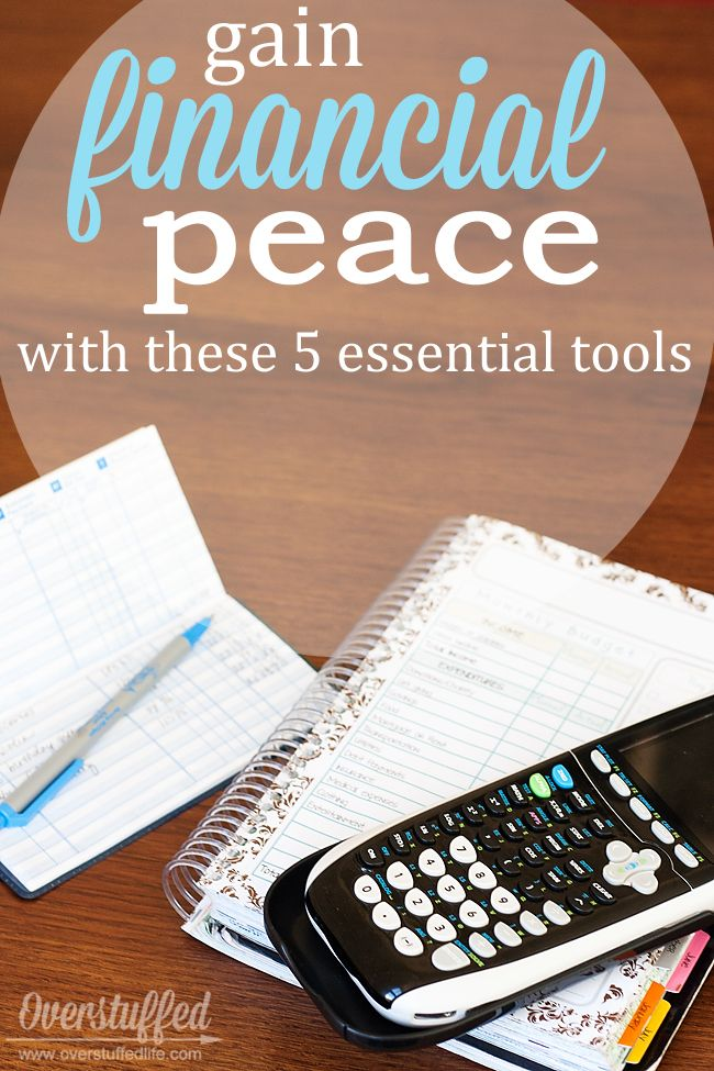If you're living paycheck to paycheck and barely keeping afloat with finances, even though you're working hard, here are five essential tools to help you get ahead financially and finally find the financial peace you are looking for. #overstuffedlife