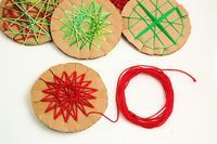 "ornament May use as ""weaving"" for Peru lesson"