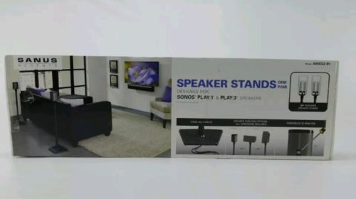 Speaker Mounts and Stands: Sanus Wireless Speaker Stand Designed For Sonos Play (1 And Play 3 Speakers-P... -> BUY IT NOW ONLY: $75 on eBay!