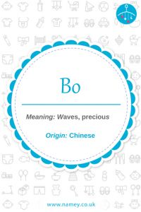 7 Chinese baby boy names beginning with 'B' and their meanings - Namey - Blog
