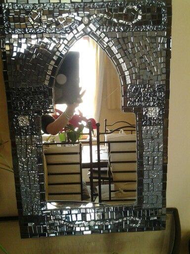 Les 92 meilleures images propos de miroirs en mosaique sur pinterest miro - Miroir style oriental ...