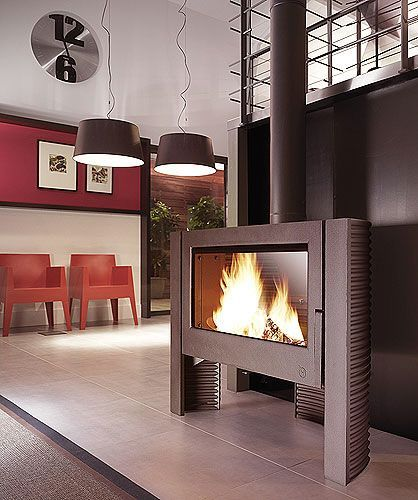 images of rooms with modern wood stoves   Wood burning stoves, Multi fuel stoves, Multifuel stoves - from ...