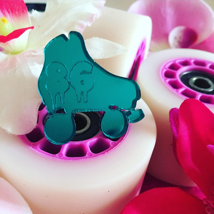 Roller Derby Skate rings coming soon! Matching necklace, badge and earrings available too