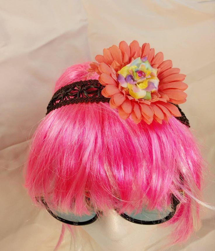 Flower Headband • Handmade • Summer • Spring • Costume • Festival https://www.etsy.com/listing/583084270/flower-headband-handmade-summer-spring?utm_campaign=crowdfire&utm_content=crowdfire&utm_medium=social&utm_source=pinterest