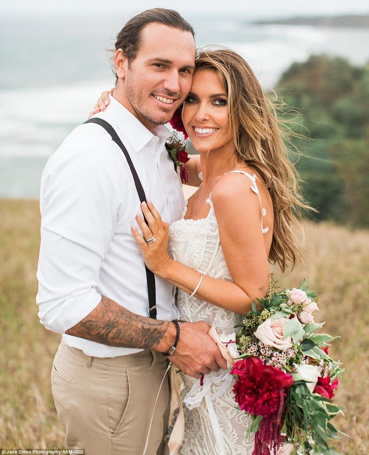Married! Audrina Patridge married longtime beau Corey Bohan on Saturday in Hawaii in front of 100 people