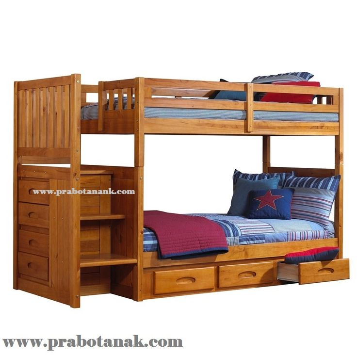 Dipan Anak 2 Tingkat Kayu Jati Drawer, gambar tempat tidur anak,harga tempat tidur anak,jual tempat tidur anak,model tempat tidur anak,ranjang anakk