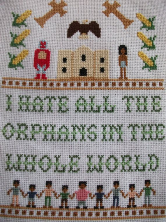 Nacho Libre Cross Stitch  Finished Product by Stitchisms on Etsy, $90.00 So great it's not even funny!