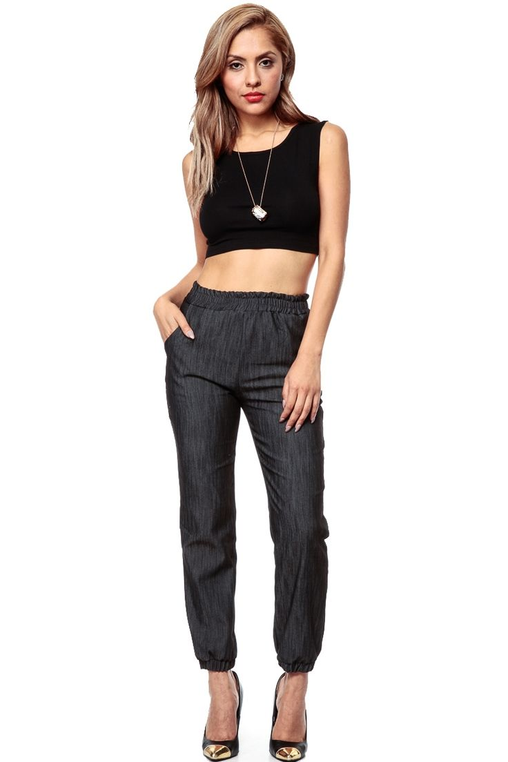 Creative Almost Famous Cargo Pocket Black Twill Jogger Pants At Zumiez  PDP