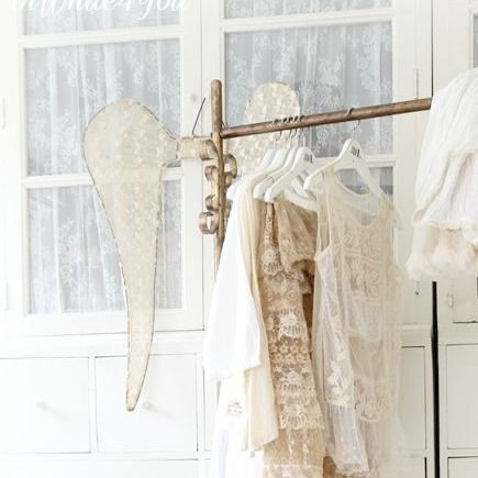 Fransk Lantstil Klädställning Antiquegold