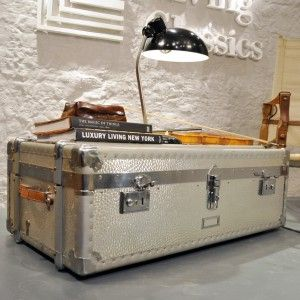 Sometimes the box is the treasure    ///Very nice Rimowa trunk from the 60`s.