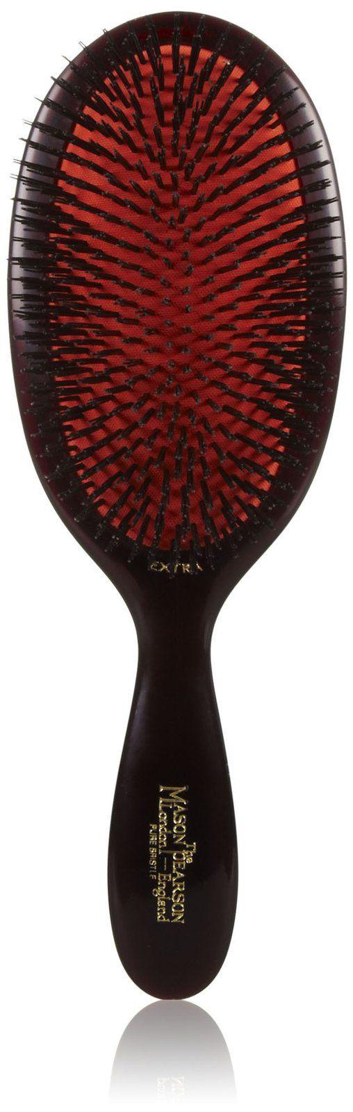 Mason Pearson Extra Large Boar Bristle Hair Brush, Ruby