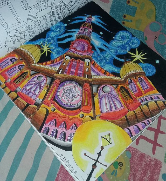 Ini Karyaku Mana Karyamu Paris Themagicalcity Colour BookMagic CityMagical ChristmasAdult
