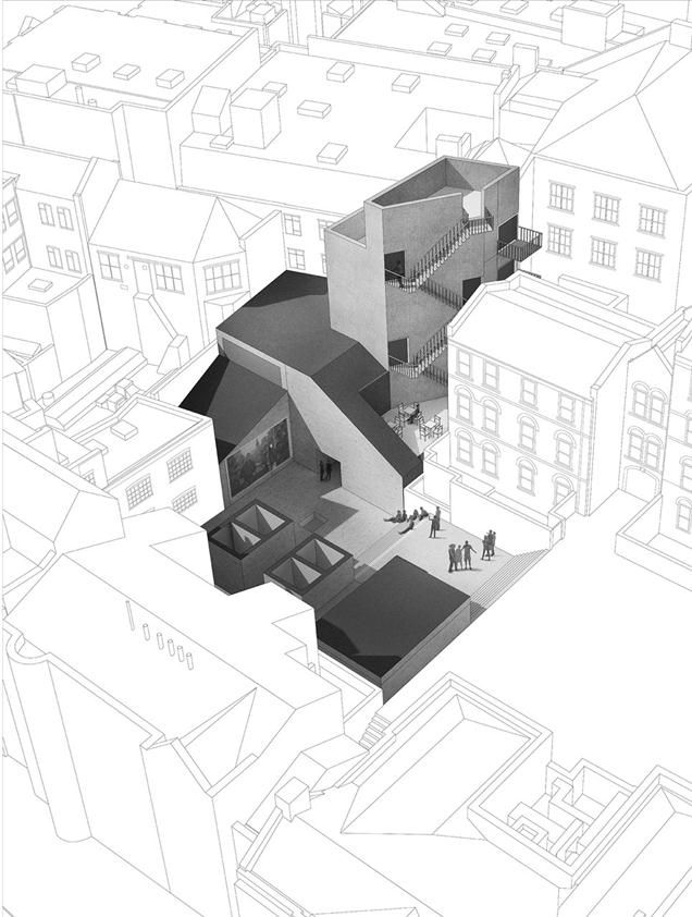 Site overview - Rory Hume, The Welsh School of Architecture