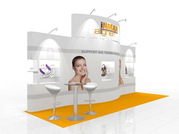 Exhibition Stand Design using the Prestige System by Quadrant2Design.