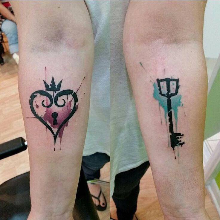"""""""Kingdom Hearts tattoo by @jakedoestattoos @royalfleshtattoo #kingdomhearts #tattoo #tattoos #tattooart #tattooink #tattooed #tattooartist #chicagotattoo…"""""""