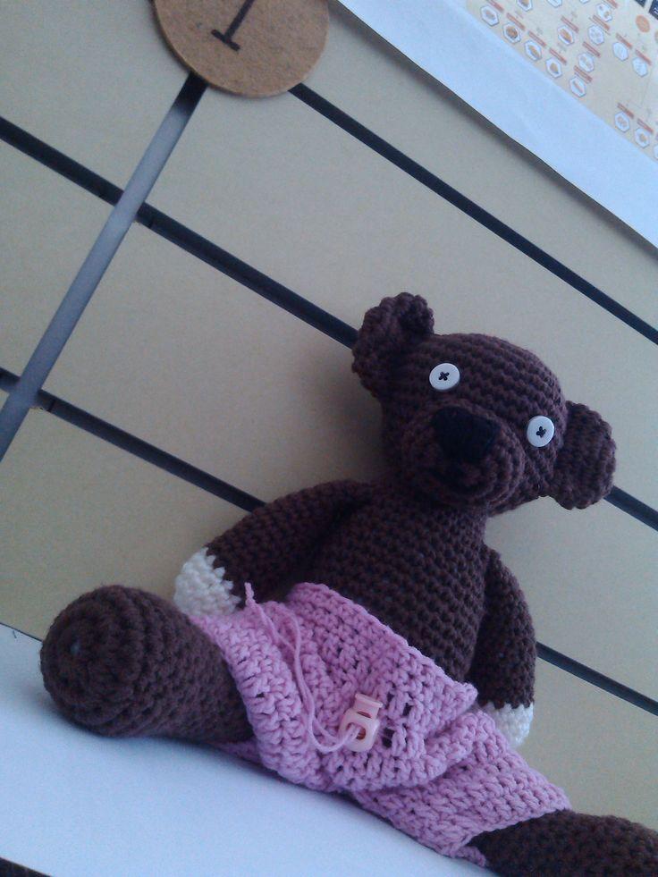 Crochet Teddy called Luis :-)