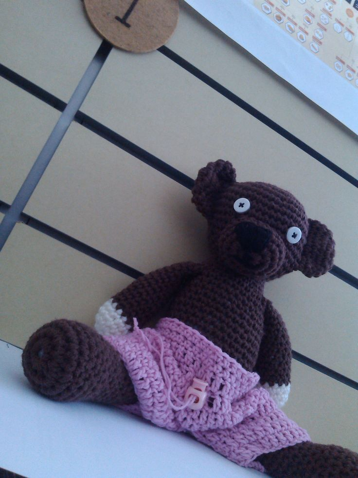 Crochet Teddy called Luis :-)